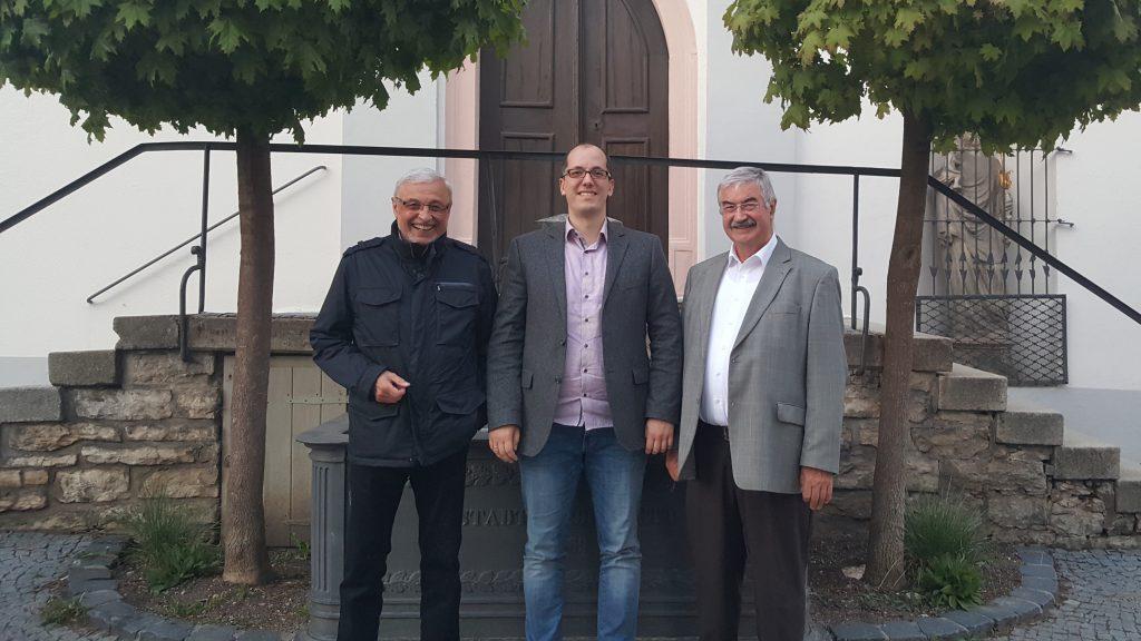 Der Vorstand der FDP im Kreis Eichstätt: Siegfried Lux, Thomas Schön, Otto Hauf (von links)